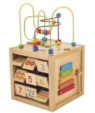 Gambar Elc Giant wooden activity cube