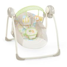 Gambar Ingenuity Soothe 'n delight portable swing