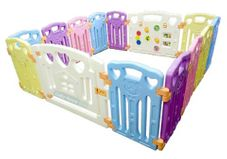 Gambar Coby haus Safety play fence 12 + 2