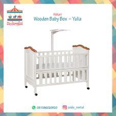 Gambar Hakari Wooden baby box - yulia