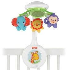 Gambar Fisher-price Laugh & learn rainforest friends deluxe musical mobile