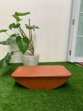 Gambar Woodie  Classic balance board with felt
