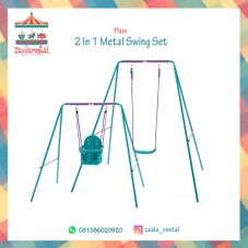 Gambar Plum 2 in 1 metal swing set
