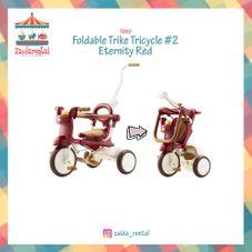 Gambar Iimo Foldable trike tricycle