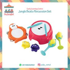 Gambar Elc Jungle beats percussion set