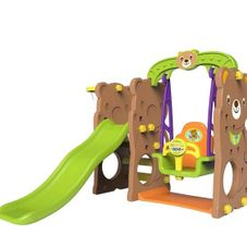 Gambar Bear slide & swing Tobebe