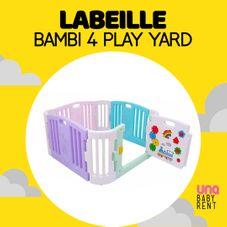 Gambar L'abeille Bambi 4 play yard