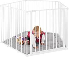 Gambar Baby dan Safety gates park-a-kid