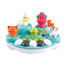 Gambar Bundle Of toys: elc light and sound buggy driver & elc singing animal keyboard