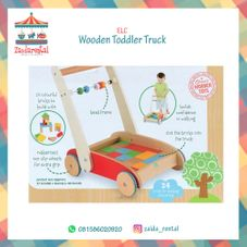 Gambar Elc  Wooden toddler truck