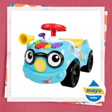 Gambar Baby einstein Roadtripper 2 in 1 ride on car & push walker