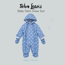 Gambar John lewis Baby stars snow suit
