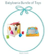 Gambar Bundle Of toys 17 : elc wooden shape sorter & elc my first scribbler