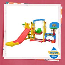 Gambar Labeille Panda 5 in 1 slide and swing