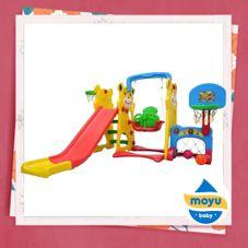 Gambar Labeille Panda 5 in 1 slide and swing