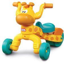 Gambar Little tikes Go & grow lil rollin giraffe ride-on