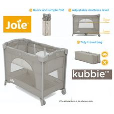Gambar Joie Kubbie sleep travel