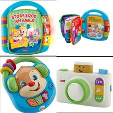 Gambar Bundle Of toys : fisher price laugh & learn sing & learn music player, fisher price laugh & learn click n learn camera toy & fisher price laugh & learn storybook rhymes