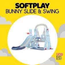 Gambar Softplay Bunny slide & swing