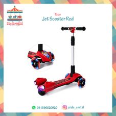 Gambar Paso  Kids scooter with rocket jet