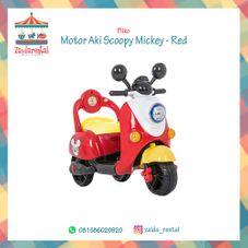 Gambar Pliko Motor aki scoopy micky - red