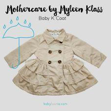 Gambar Mothercare Myleen klass collection coat