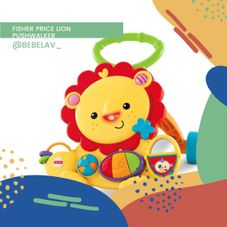 Gambar Fisher price Lion pushwalker