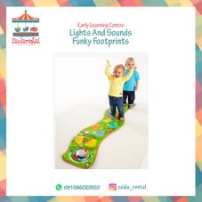 Gambar Elc Lights and sounds  funky  footprints