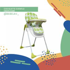 Gambar Coco latte High chair evenflo