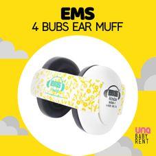 Gambar Ems Ear muff white yellow
