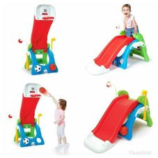 Gambar Grow 'n up 6 in 1 slide & sport station