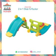 Gambar Grow n up  2 in 1 slide to rocker