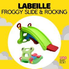 Gambar Labeille Froggy slide & rocking