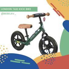 Gambar London taxi Kick bike