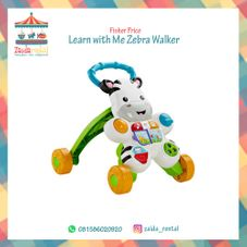 Gambar Fisher price  Pushwalker zebra