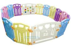 Gambar Coby haus Safety play fence 16+2