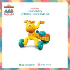 Gambar Little tikes Go and grow lil rollin girrafe ride on