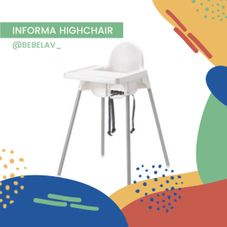 Gambar Informa High chair standart