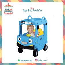 Gambar Yaya Tayo bus roof car